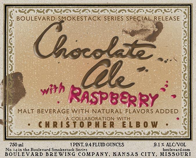 Boulevard Chocolate Ale with Raspberry