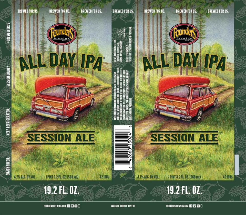 Founders All Day IPA 19.2oz