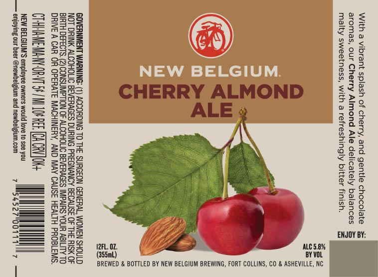 New Belgium Cherry Almond Ale