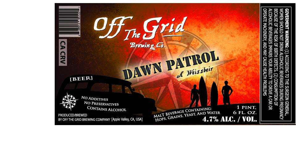 Off the Grid Brewing Dawn Patrol