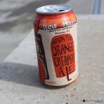 Red Hare Cotton Tail Orange Creamsic-ale can