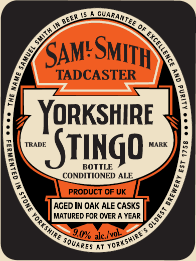 Sam Smith Yorkshire Stingo