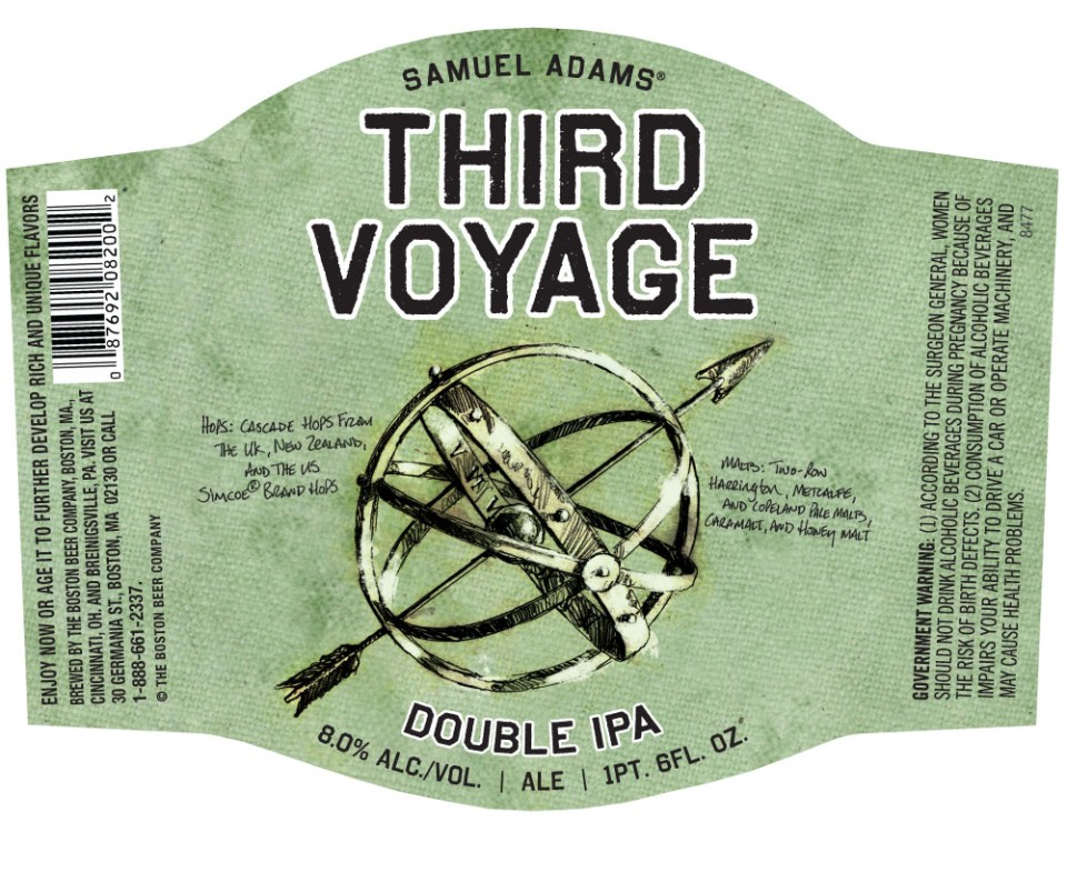 Sam Adams Third Voyage