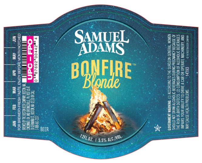 Samuel Adams Bonfire Blonde