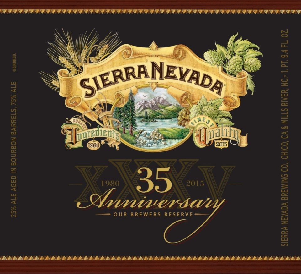 Sierra Nevada 35th Anniversary Our Brewer's Reserve