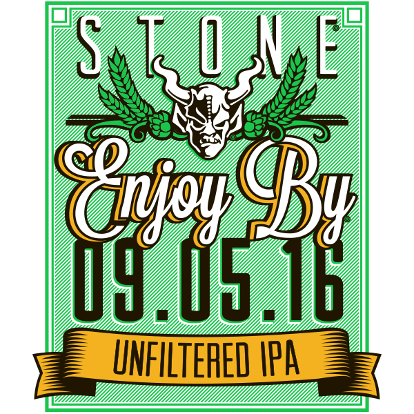 Stone Enjoy By 090516 Unfiltered IPA