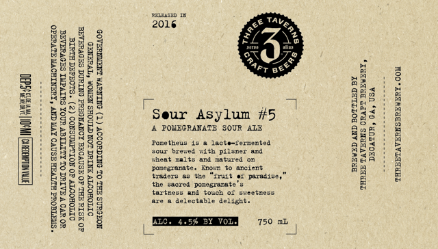 Three Taverns Sour Asylum #5