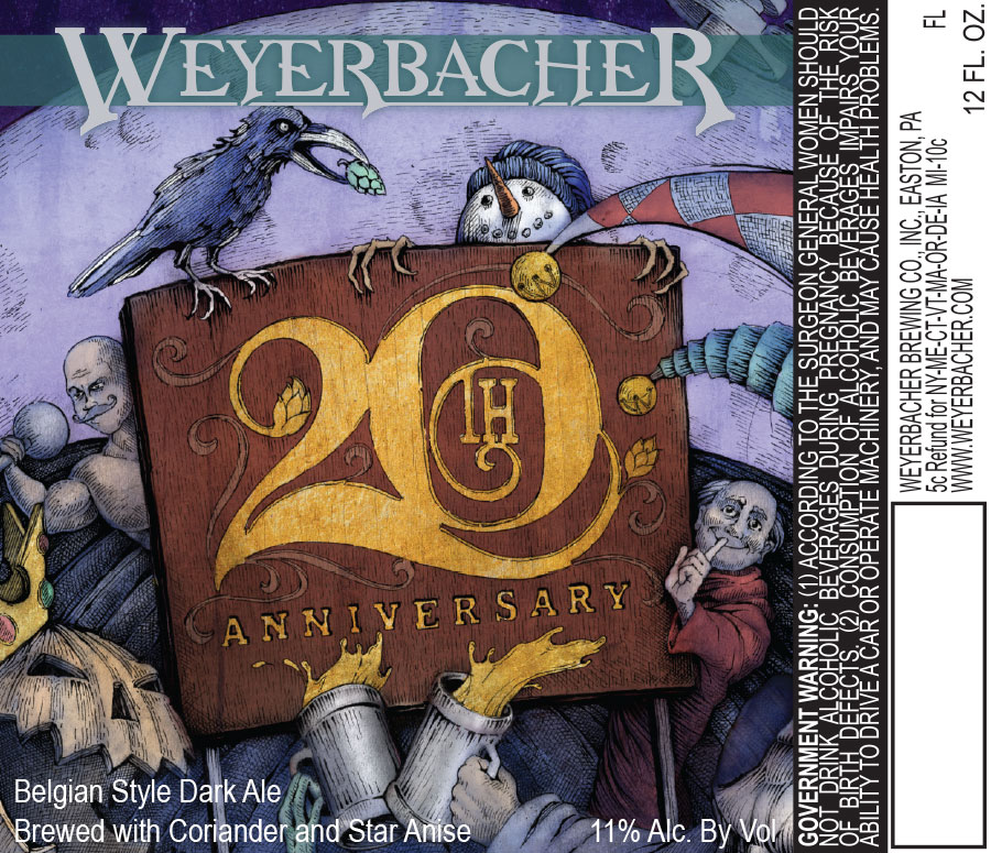 Weyerbacher 20th Anniversary