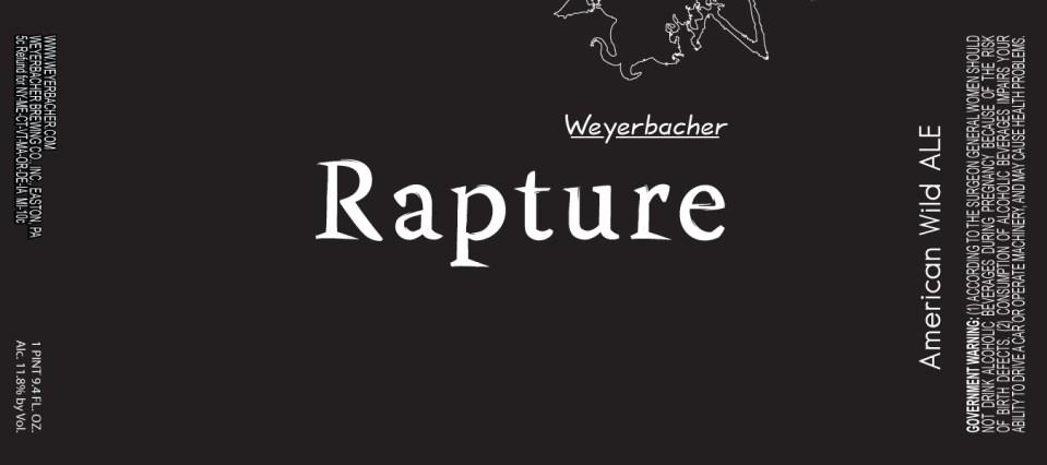 Weyerbacher Rapture