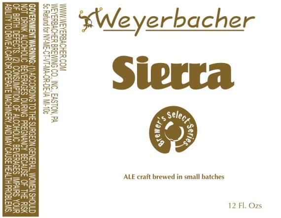 Weyerbacher Sierra