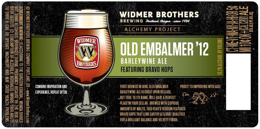 Widmer Brothers Old Embalmer Barleywine