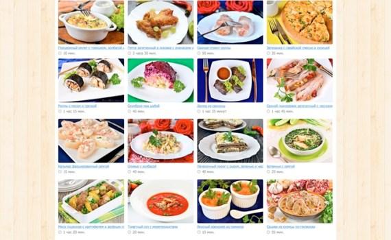 Кулинарный сайт Foodstories.ru