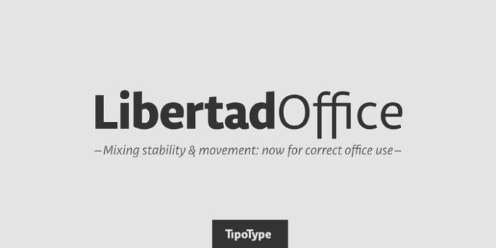 Libertad Font Download