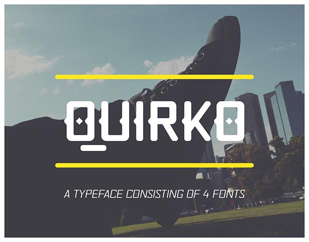 Quirko Free Font Download