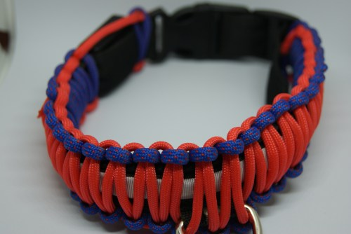 Medium Of Paracord Dog Collar