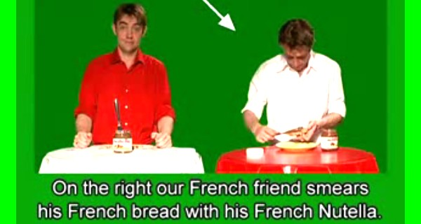 French Vs German Nutella