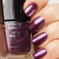 Cover Girl Violet Flicker + Seared Bronze nail polish swatches + review