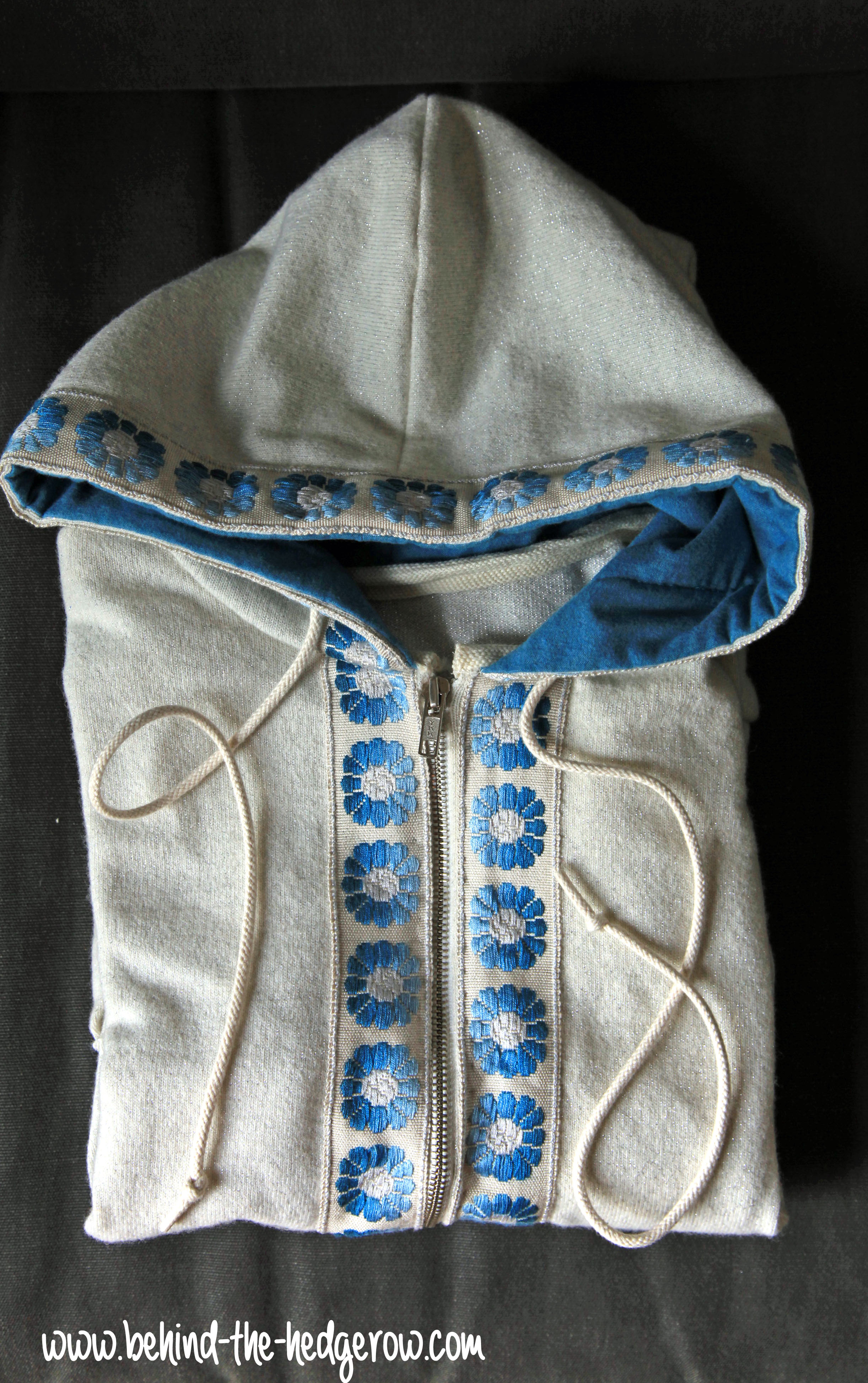 selfish sewing week: sol hoodie || imagine gnats