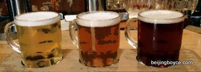 beer-flights-la-chouffe-de-koninck-vedett-brussels-bar-beijing-china-001