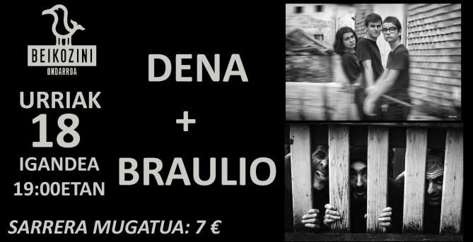 DENA + BRAULIO.