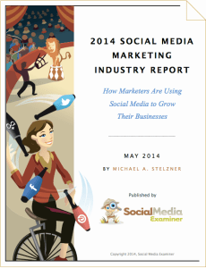 social media marketing industry report 2014