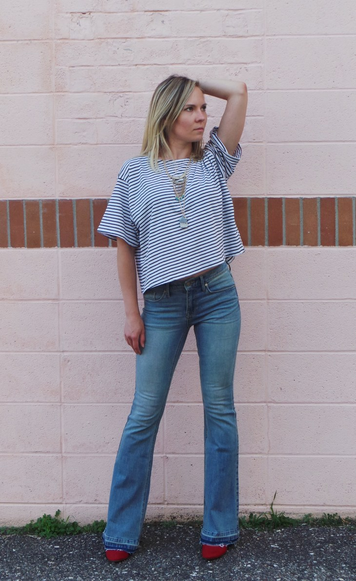 mossimo flare jeans