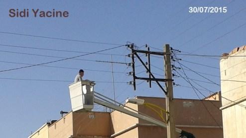 sidi yacine -fils électrique