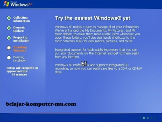 gambar jendela setup tahap installasi windows