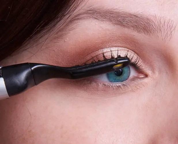 Heated Eyelash Curler Without Mascara Anexa Beauty