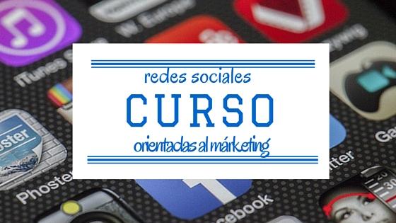 Cursomárketing en redes sociales