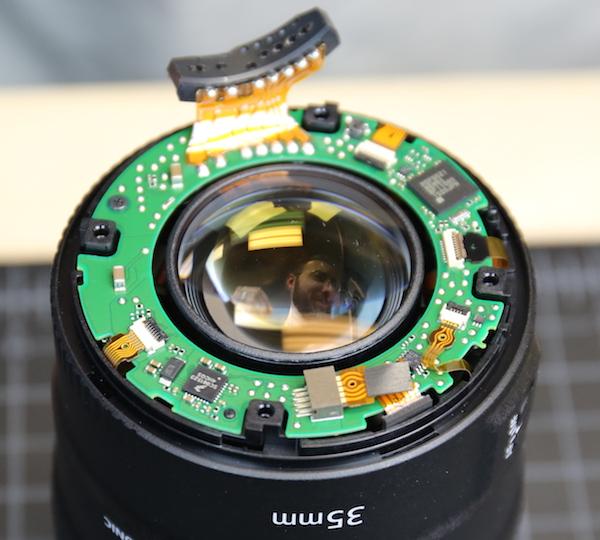 Membongkar lensa canon 35mm f1 4 l 8