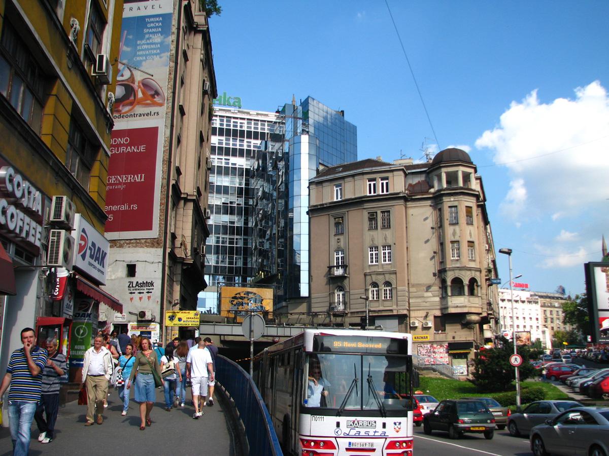 downtown belgrade