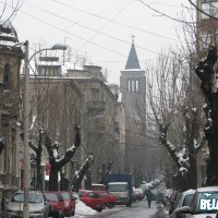 Knez Miletina & Bitef under snow