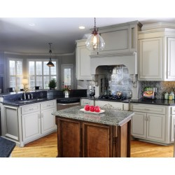 Small Crop Of Grey Kitchen Cabinets