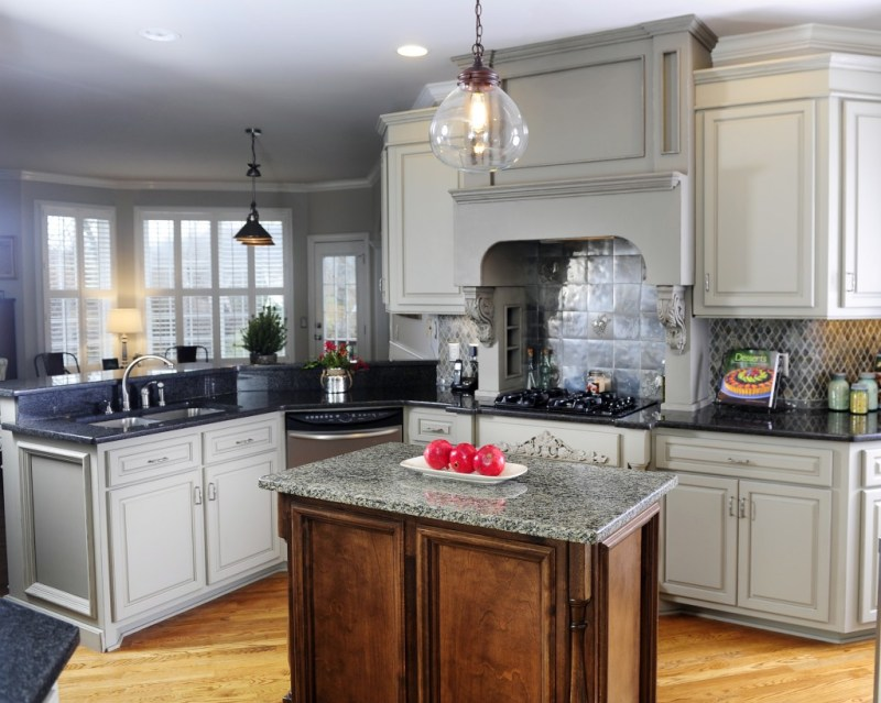 Large Of Grey Kitchen Cabinets