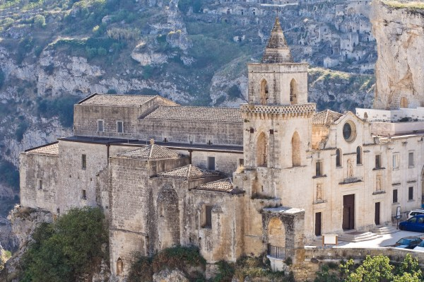 St. Pietro Caveoso Church. Matera. Basilicata. Italy.