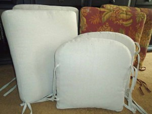 Janet Cushions before and after