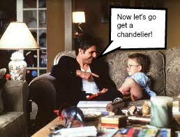 Jerry Maguire with word bubble
