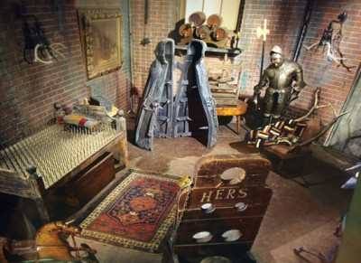 The Addams Family Bedroom