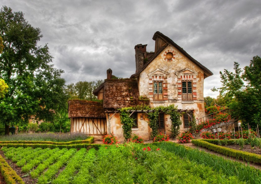 www.stuckincustoms.com The Queen's Hamlet.  Versailles