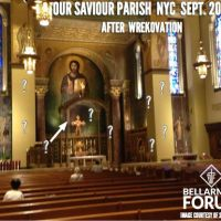 ACTION ALERT!  AmChurch Meat Grinder returns to Church of Our Saviour in New York