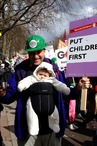 If Babies Could March, Could Politicians and Journalists Even See Them?