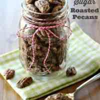 Cinnamon & Sugar Roasted Pecans