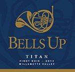Bells Up Titan 2013 Wine Label