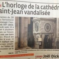 L'horloge astronomique qui dérange la prière...#Lyon