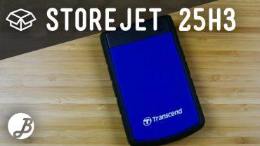 Trascend StoreJet 25H3 – Unboxing