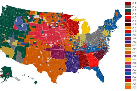 the united states of college football | benchwarmer sports
