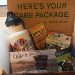 A box of Cairn goodies.