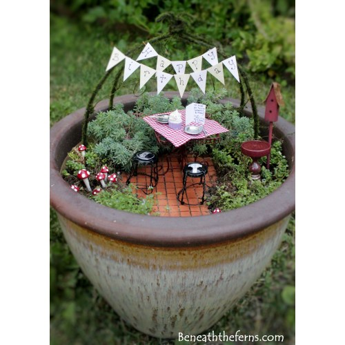 Medium Crop Of Fairy Garden Train