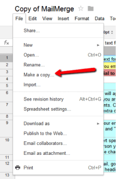 Mail Merge In Gmail